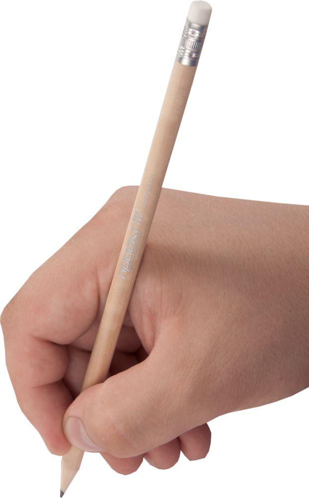 Карандаш простой Hand Friend с ластиком