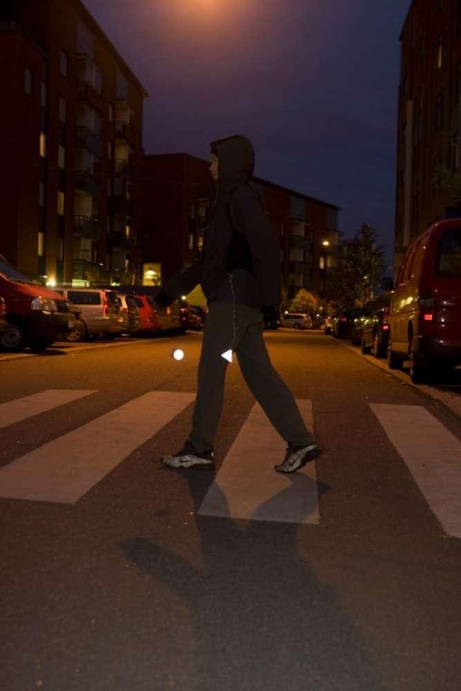Пешеходный светоотражатель «Круг»