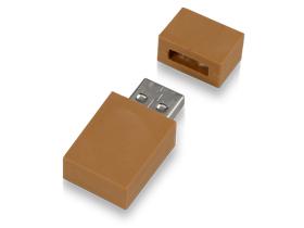 Флеш-карта USB 2.0 на 8 Gb в форме кирпича