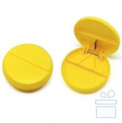 Таблетница с разрезателем таблетки