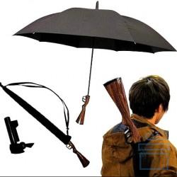 Зонт с ручкой в виде ружья