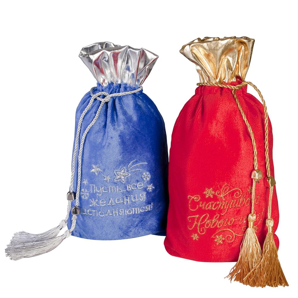 Заказать мешочки для новогодних подарков 54