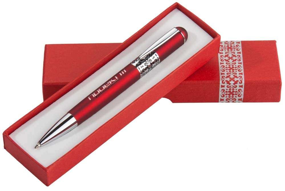 """Ручка шариковая """"Каир"""", красная P111/4195.50 купить в Москве: оптом по доступной цене 212.00 руб - GiftsPro"""