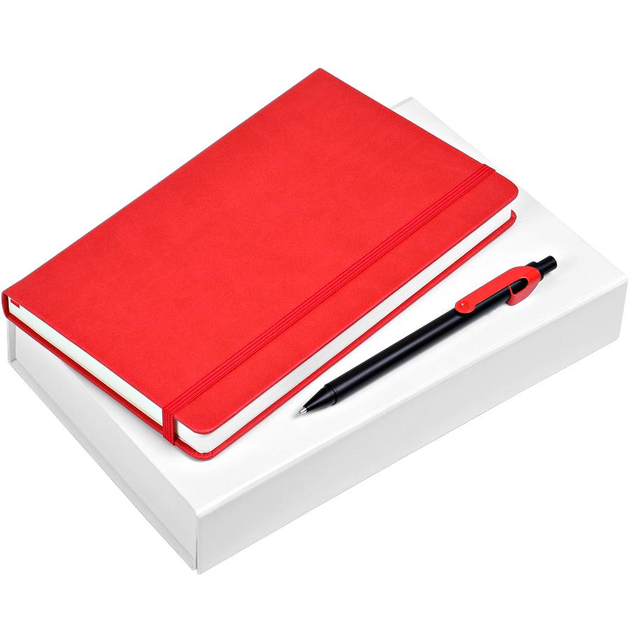 Блокнот с ручкой в подарок 322